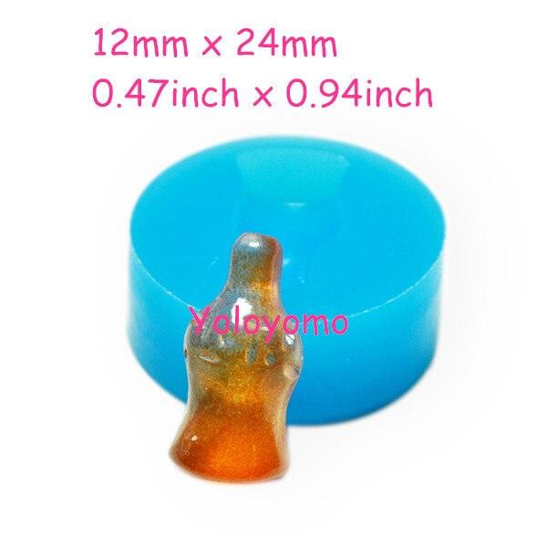 Freies Verschiffen P062yl Cola Flasche Candy Form 24mm Kuchen