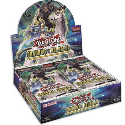 Yu Gi Oh European Version Valkyrie Shadows In Valhalla Supplementary Box