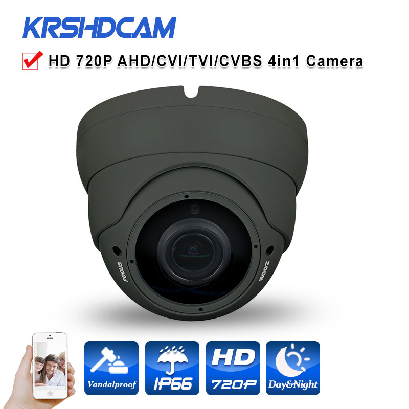 CCTV 720P AHD Camera indoor HD analog AHD-M BNC 2.8-12mm varifocal lens Night Vision 36IR With IR-CUT cameras de seguranca HOT