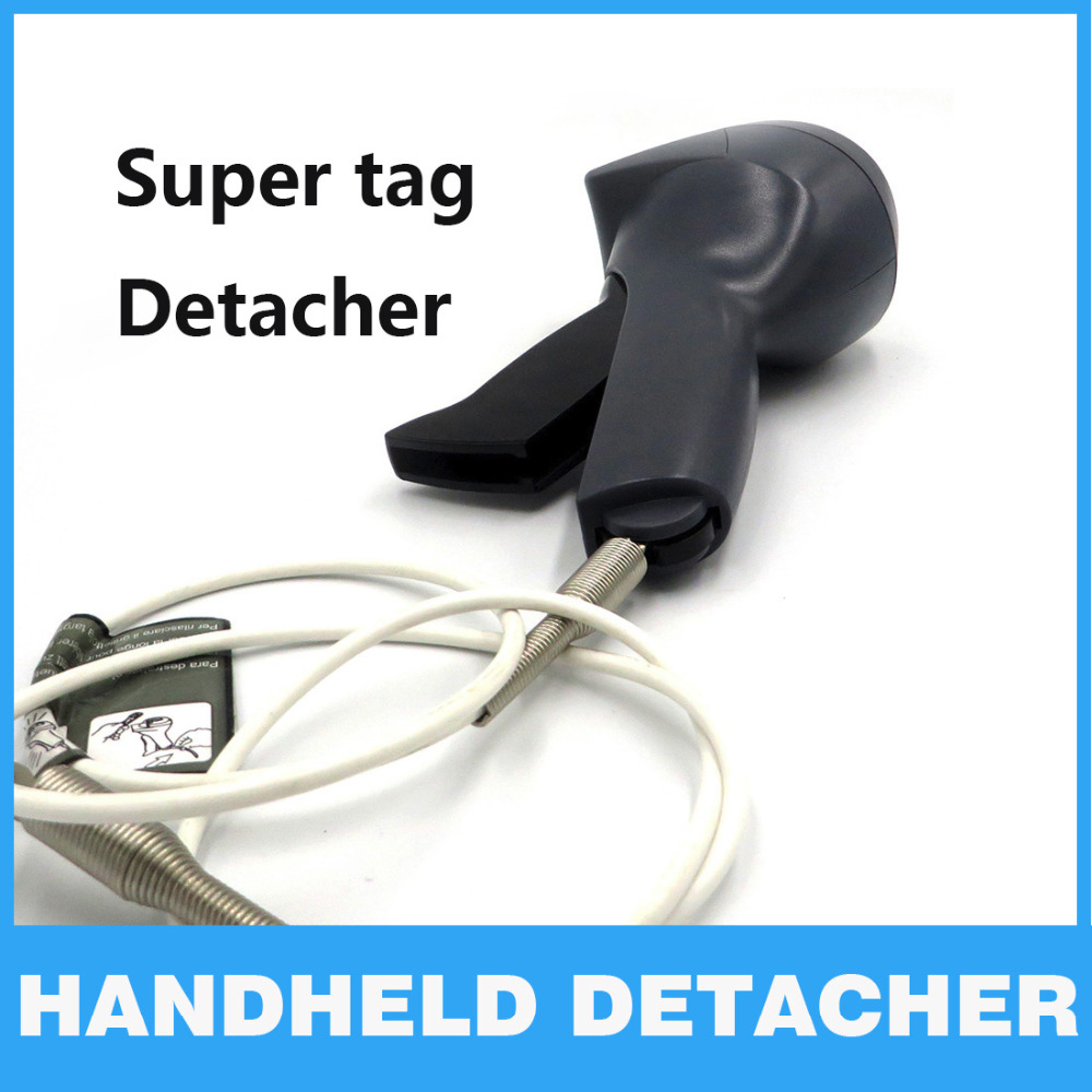 Security Tag EAS System Handheld Detacher Gun Magnet tag remover Supermarket clothing alarm AM Hard tag remover detacher lockpic