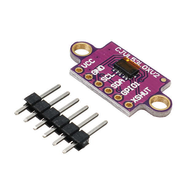 Time-of-Flight (ToF) Laser Ranging Sensor 940nm GY-VL53L0XV2 Laser Distance Module I2C IIC For Arduino