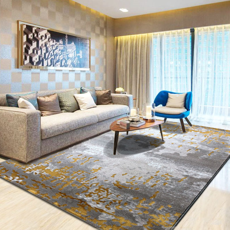 Nordic Art Abstract Rugs And Carpets For Living Room Floor Area