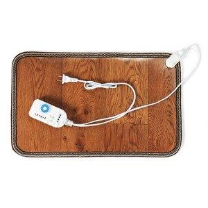 Image 4 - Электрическая грелка для ног, тепловая грелка для ног, коврик для пола, коврик для дома, офиса, теплые ножки, домашние теплые инструменты
