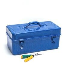 Многофункциональный Железный защитный чехол для инструментов ручной ремонт ящик для хранения инструментов для ремонта автомобиля герметичные контейнеры