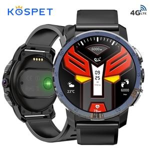 "Image 1 - KOSPET Optimus Pro 3GB 32GB 800mAh Battery Dual Systems 4G Smart Watch Phone 8.0MP 1.39"" Android7.1.1 Smartwatch Men Women"