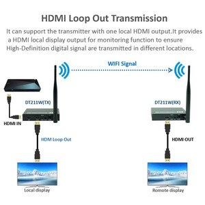Image 3 - 2020 5GHz Wireless HDMI Transmission Extender Support IR HDMI Wireless Transmitter Receiver Kit HD 1080P WIFI HDMI Transmitter