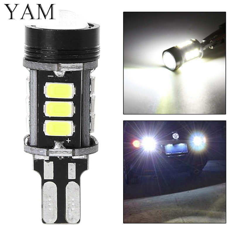 T15 W16W 5630 LED Canbus No error car Backup Reserve Lights Bulb Xenon White
