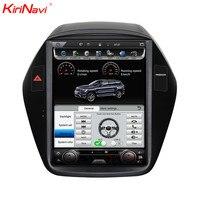 KiriNavi Vertical Screen Tesla Style 10.4 Inch Car Dvd Player GPS Radio For Hyundai Tucson/ix35 Multimedia Android 4G 2010 2014