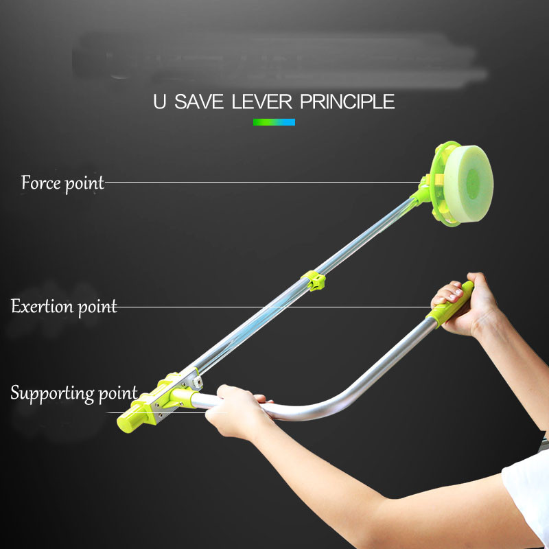 telescopic High-rise window cleaning glass cleaner brush for washing windows Dust brush clean the windows  hobot 168 188 (17)