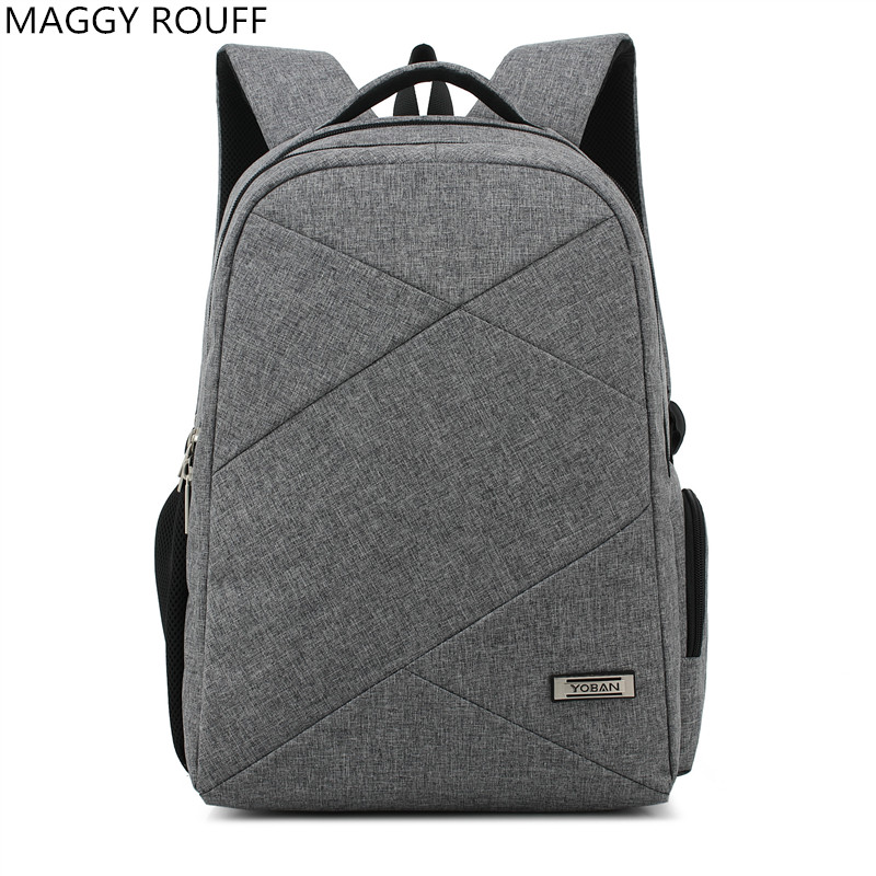 2018New Men Backpack For 15 inch Laptop Computer Backpack Large Capacity Leisure Travel Waterproof Nylon Oxford Backpack men backpack student school bag for teenager boys large capacity trip backpacks laptop backpack for 15 inches mochila masculina