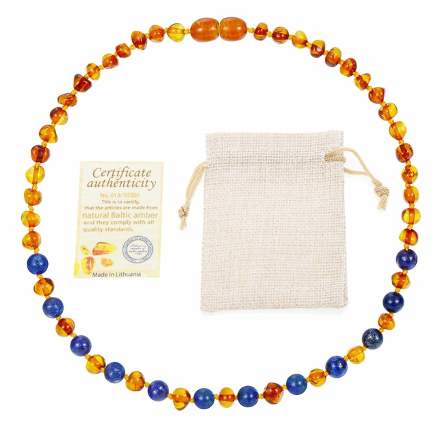 HAOHUPO Natural Amber Necklace Supply Certificate Authenticity Genuine Baltic Amber Stone Bracelet Baby Valentine's Day Gifts