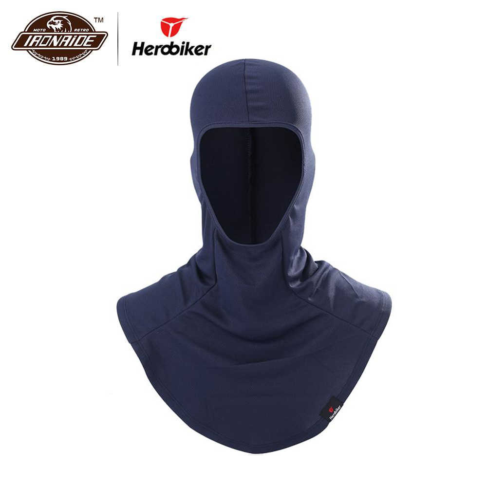 6f2c918153e HEROBIKER Balaclava Mask Motorcycle Face Shield Windproof Cycling Bike Ski  Neck Protecting Outdoor Moto Full Face