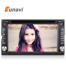 Eunav Du6539 2 Din Pure Android 5.1 Car DVD Player Navigation Stereo Radio GPS WiFi 3G  Touch Screen Back Camera Car PC 4 core