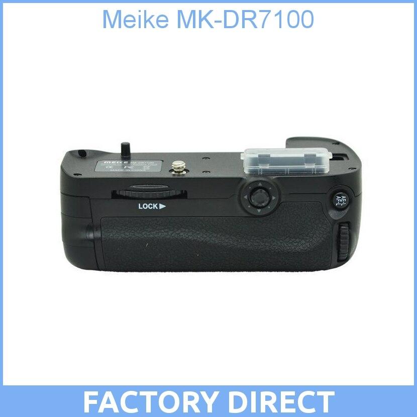 Meike MK-DR7100 Remote Control Battery Grip For Nikon D7100 original meike as mb d15 vertical battery grip for nikon d7100 decoded as en el15 battery n3 timer remote shutter for d7100