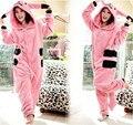 Abrigo de invierno Más Nuevo Todo En Uno Pijama de Dormir Pijamas de Halloween Para Adultos Pink Pikachu Ropa Pijama Trajes Pijama Oneises