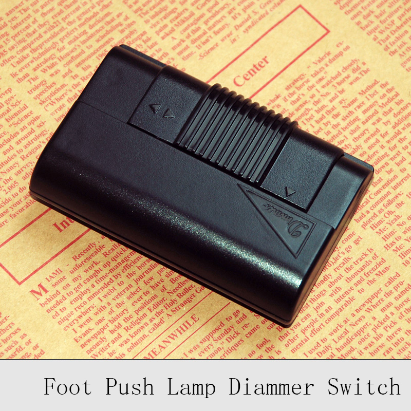 220V Lamp Foot Dimmer Switch Floor Light Table Lamp Foot Push Dimming Switches Good Quality DIY Lighting Wire Control Dimmer microscope accessories mobile 00 foot power dimming