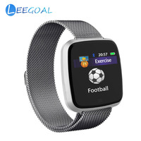 G12 Smart Watch Fitness Tracker Calorie Burnt Heart Rate Monitor IP67 Waterproof Metal Strap Bracelet For IOS Android