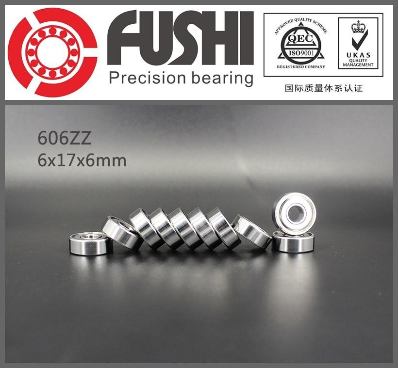 606ZZ Bearing ABEC-5 10PCS 6x17x6 mm Miniature 606Z Ball Bearings 606 ZZ EMQ Grade Z3 V3 607zz abec 5 10pcs 7x19x6mm miniature ball bearings 607z emq z3v3