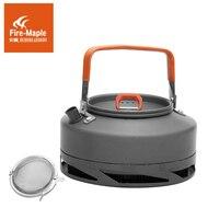 Outdoor kettle Heat Exchanger Camping Tea Pot Outdoor Portable Camping Pot Outdoor Kettle 0.8L 242g Fire Maple FMC XT1