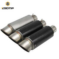 ZSDTRP 51mm Universal SC รถจักรยานยนต์ไอเสียท่อ Escape สำหรับ S1000RR YZF R1 FZ1N MT09 GSX-R750 R25 NINJA250 CBR1000