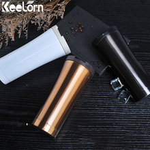 Keelorn High Quality Double Wall Stainless Steel Coffee Thermos Cup Mug Thermal Bottle 500ml Thermo Fashion Tumbler Vacuum Flask
