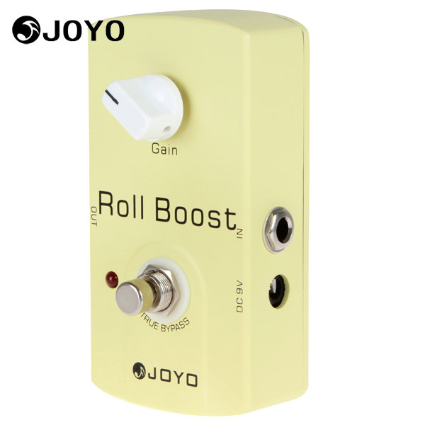 Joyo JF-38 Roll Boost Electric Guitar Effect Pedal Clean Volume Boost Pedal Box Musical Instrument Guitar Accessories joyo 9v dc roll boost guitar effect pedal jf38