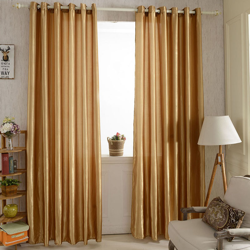 >12 Colors Curtain Window Blackout Curtain Fabric Modern Curtains for the Living <font><b>Room</b></font> of the Household Window Bedroom Curtains OB