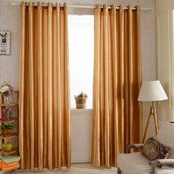 12 kolorów zasłona okienna tkanina zaciemniająca na zasłony nowoczesne zasłony do salonu domowego okna zasłony do sypialni w Zasłony od Dom i ogród na