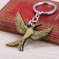 Catching Fire Bird Brown Keychain The Hunger Games Alloy Key Chain Ring Holder For Boyfriend Best Gift Dropshipping