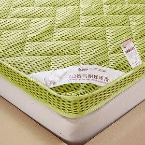 Image 5 - Matelas épais de massage, double ou simple, matelas à air en fibre de bambou, pour dortoir, camping, livraison gratuite