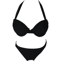 2016 Hot Women S Halter Top Two Pieces Suit Bandeau Top Bottom Push Up Sexy Lady