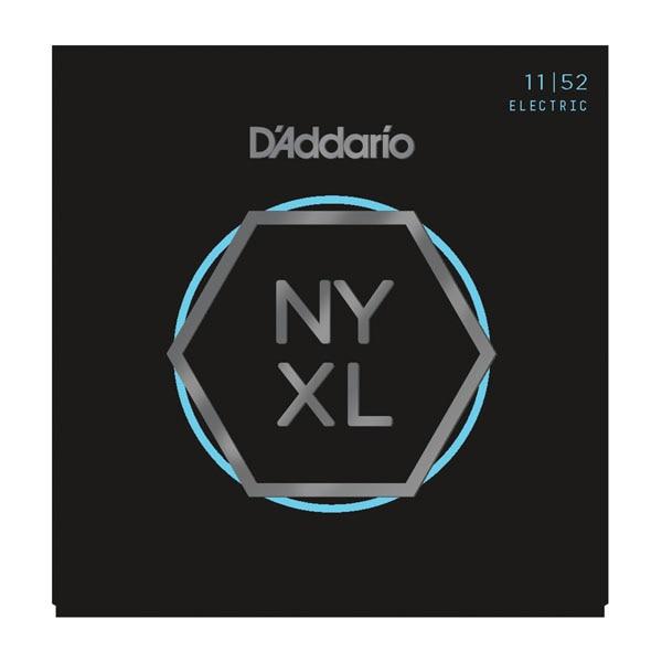 D'Addario NYXL მძიმე საზომი ნიკელის ჭრილობის ელექტრო სიმები NYXL1152 NYXL1156 NYXL1254 NYXL1260