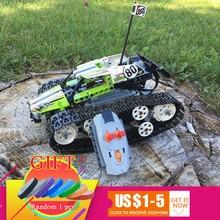 20033, 397 piezas de la Serie Técnica Radio rastreado Racer juego de bloques de construcción ladrillos juguetes Compatible con 42065 educativos