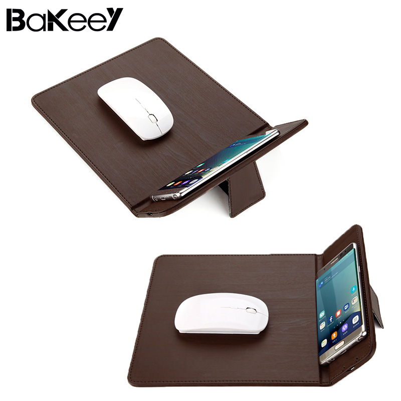 Bakeey Chargeable Qi Wireless Charger Mouse Pad Mat for iPhone X/8/8 Plus for Samsung G alaxy