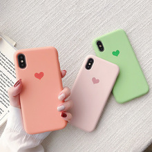 Phone Case Cover For iPhone XR X 7 Soft Silicone XS MAX 8 6 6s Plus Luminous TPU Ultra Thin Cases