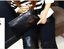 Fashion Women Clutch Bag Dazzling Sequins Glitter Sparkling Handbag Evening Party
