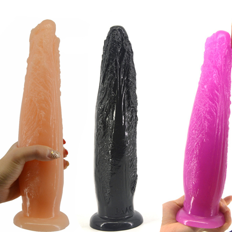 26.5*6.2cm Large Cabbage Anal Plug Simulation New Design Dildo Huge Butt Plug Erotic Stuffed Stopper Anus Massager Sex Toy H54 frap h54 f4954