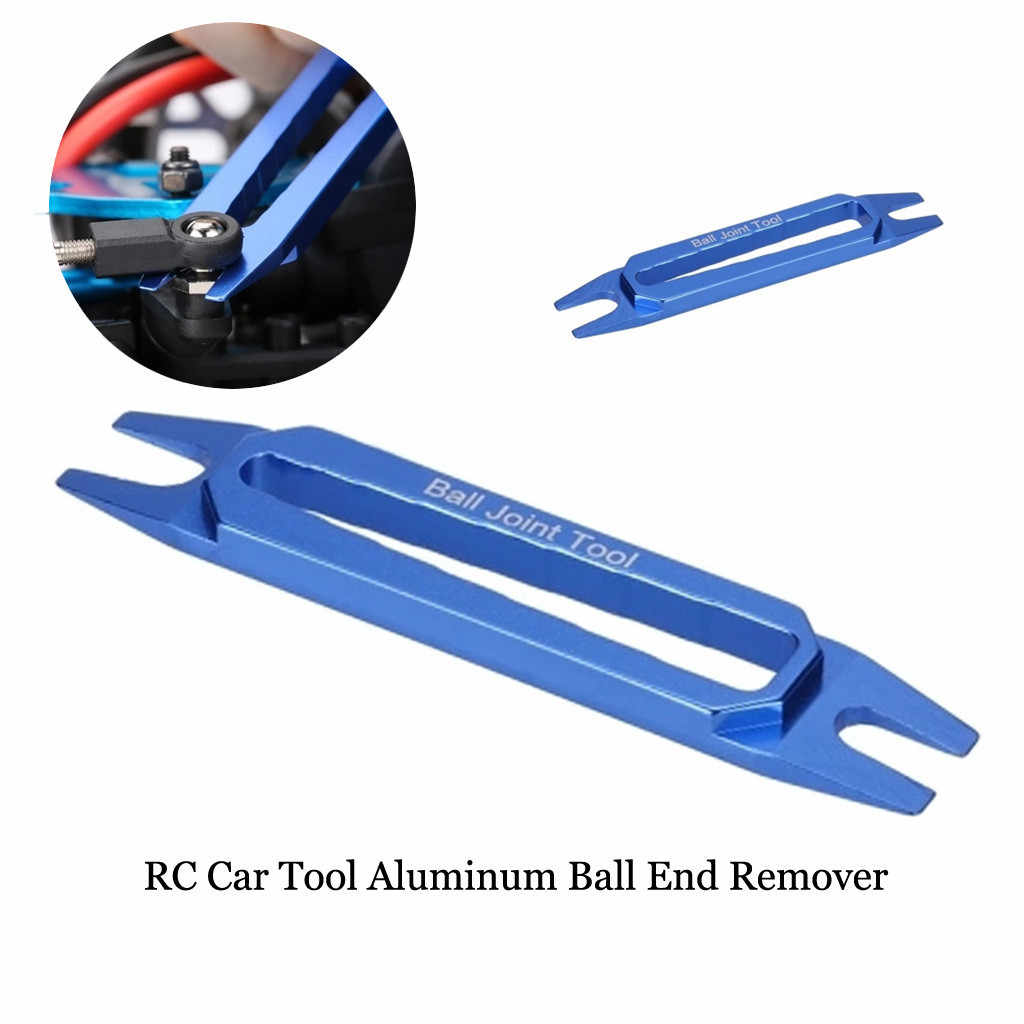 Herramienta de coche RC removedor de bola de aleación de aluminio para HSP Tamiya para Traxxas HPI RC juguetes de coche para niños piezas de coche RC de calidad
