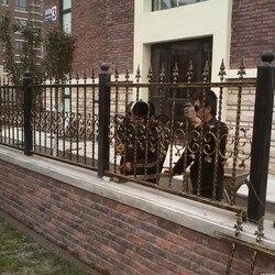 Sconto recinzione recinzione di alluminio cancello recinzione di metallo