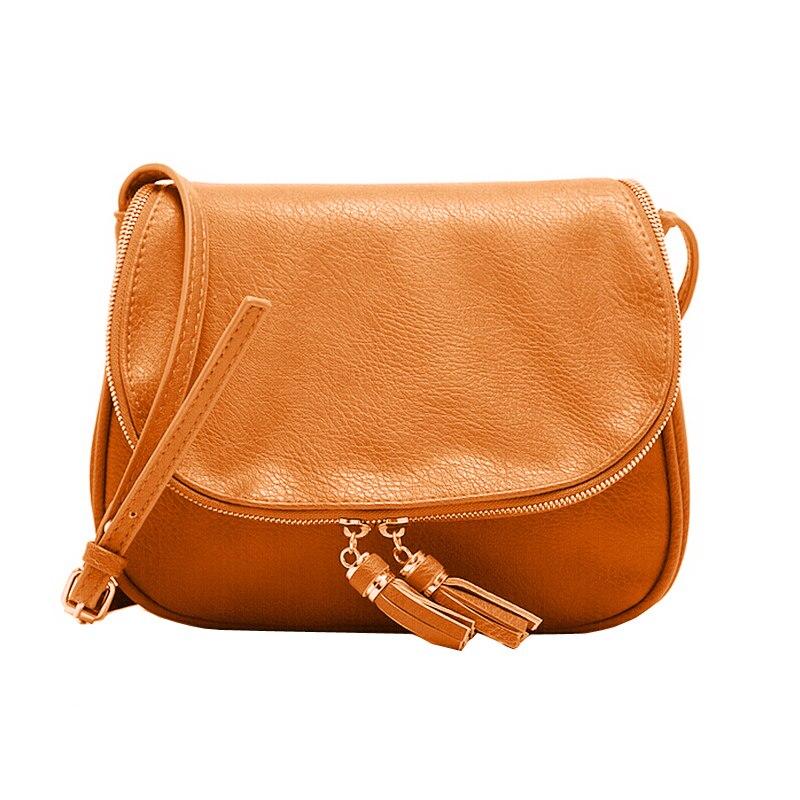 Vintage Crossbody Bag Women Messenger Bags Tassel Bag Famous Brand Women's Shoulder Bags Bolsa Feminina