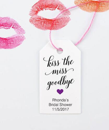 Aliexpress  Buy Personalized Kiss the Miss Goodbye wedding