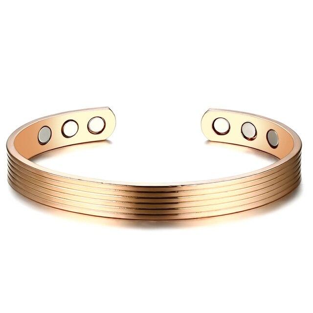 Vnox Women Bangle Magnetic...