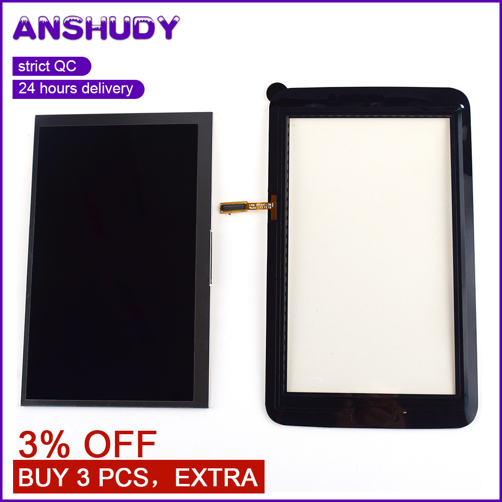 For Samsung Galaxy Tab 3 Lite 7.0 SM-T110 T110 Touch Screen Digitizer Sensor Glass + LCD Display Panel MonitorFor Samsung Galaxy Tab 3 Lite 7.0 SM-T110 T110 Touch Screen Digitizer Sensor Glass + LCD Display Panel Monitor