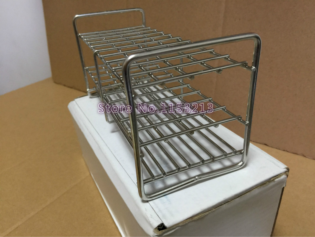 30mm*10-holes Professional Test Tube Rack Wire Stainless Steel test tube stand frame Suitable for tube 26/27/28/29/30/31.5mm 13mm 40 holes wire professional test stainless steel tube rack suitable for test tube of diameter 10mm 11mm 12mm 13mm