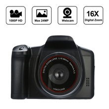 Digital Camera Selfie Optical Zoom Premium Digital Video Photography Shooting 1200W Full HD Camcorder Support SD Card Photo 4X