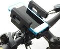 Universal de la Bici Ciclismo Titular Mounts Soportes para Teléfono Celular Móvil GPS MP3 MP4 Navigator Negro Ajustable con Caja de Color