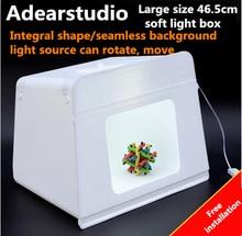 Portable Photo Photography Studio Light Soft Box (465*340*365mm)  Photo box Photography Lightbox  light tent CD50