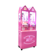Children Playground Gift Machine Video Game Equipment Mini Competitive Products Coupe A Doll Machine Coin Game Machine