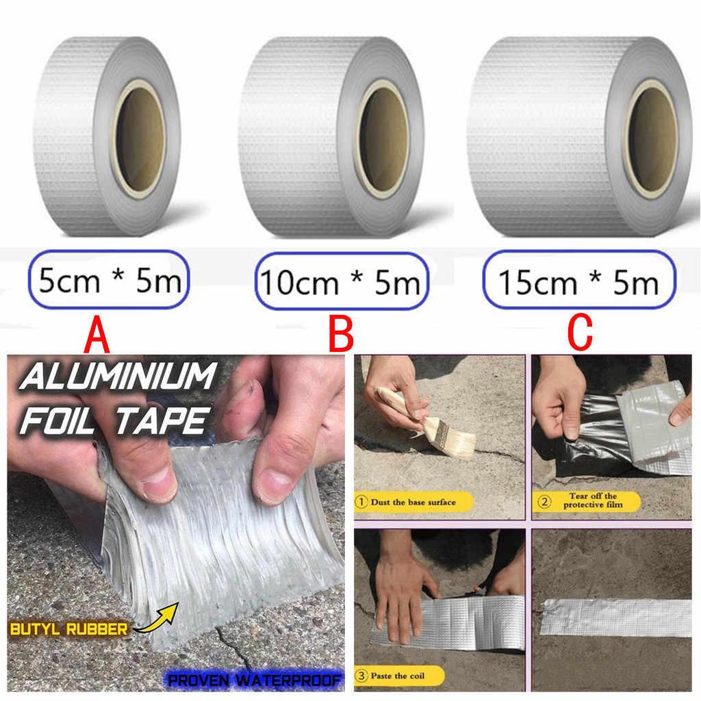 Resistente al Agua y a los Rayos UV de Fibra de Vidrio y l/ámina de Aluminio autoadhesiva PIONIN Cinta de Aluminio