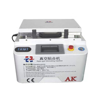 Newest upgrade automatic lock 2 in1 Automatic Vacuum Laminating Machine Bubble Remover Machine Built in Pump and Air Compressor